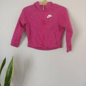 Nike Girls Pink Zipper Hoodie Jacket